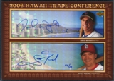 2006 Upper Deck Hawaii Trade Conference Signature Dual Jumbos #HTC2WR David Wright Scott Rolen 5/10