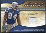 2009 Upper Deck Icons Decade of Dominance Jerseys #DDDW DeMarcus Ware /99