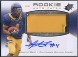 2010 SPx #105 Jahvid Best Rookie Patch Auto Silver #05/10