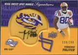 2011 Upper Deck Sweet Spot Rookie Signatures Variations #RSTT Terrence Toliver Autograph /299