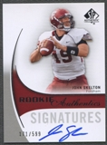2010 SP Authentic #154 John Skelton Rookie Auto #171/599