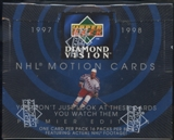 1997/98 Upper Deck Diamond Vision Hockey Retail Box