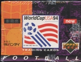 1994 Upper Deck World Cup Soccer English/Japanese Retail Box