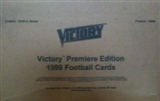 1999 Upper Deck Victory Football 12-Box Hobby Case