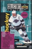 1995/96 Upper Deck Collector's Choice Hockey Retail Box