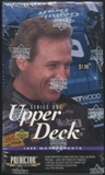 1996 Upper Deck Series 1 Racing Prepriced Box
