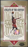 1999/00 Upper Deck Michael Jordan Athlete of the Century Basketball Prepriced Box
