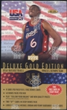 1996/97 Upper Deck USA Gold Edition Basketball Pre-priced Box