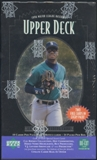 1996 Upper Deck Series 2 Baseball Retail 24-Pack Box