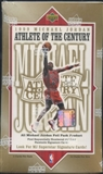 1999/00 Upper Deck Michael Jordan Athlete of the Century Basketball Retail Box