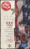 1996 Upper Deck U.S. Olympic Champions Value Added Box