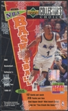 1996/97 Upper Deck Collector's Choice Series 2 Basketball Value Added Box