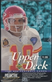 1995 Upper Deck Football Prepriced Box