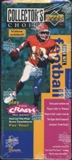 1995 Upper Deck Collector's Choice Football Value Added 64-Pack Box