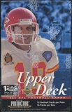 1995 Upper Deck Football Blaster Box