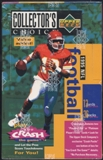 1995 Upper Deck Collector's Choice Football Value Added Box