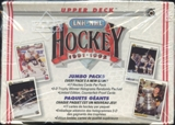 1991/92 Upper Deck French Low # Hockey Jumbo Box