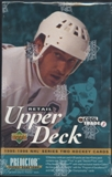 1995/96 Upper Deck Series 2 Hockey 24-Pack Retail Box