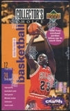 1995/96 Upper Deck Collector's Choice Series 1 Basketball 24-Pack Box