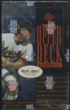 1994 Upper Deck Series 1 Eastern Region Baseball Hobby Box
