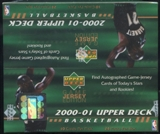 2000/01 Upper Deck Series 2 Basketball Retail Box