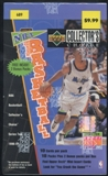 1996/97 Upper Deck Collector's Choice Series 2 Basketball Blaster Box