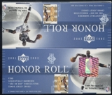 2001/02 Upper Deck Honor Roll Basketball Retail Box