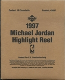 1997 Upper Deck Michael Jordan Highlight Reel Basketball Retail Box