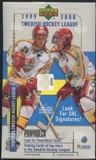 1999/00 Upper Deck Swedish Hockey League Hobby Box