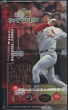 1999 Upper Deck MVP Baseball Prepriced Box