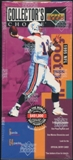 1995 Upper Deck Collector's Choice Football Retail 64-Pack Box
