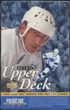 1995/96 Upper Deck Series 1 French Hockey Retail Box