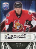 2009/10 Upper Deck Be A Player Signatures #SEK Erik Karlsson Autograph