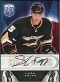 2009/10 Upper Deck Be A Player Signatures #SLS Luca Sbisa Autograph