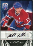 2009/10 Upper Deck Be A Player Signatures #SMC Mike Cammalleri Autograph