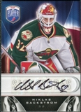 2009/10 Upper Deck Be A Player Signatures #SNB Niklas Backstrom Autograph
