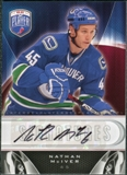 2009/10 Upper Deck Be A Player Signatures #SNM Nathan McIver Autograph