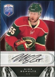 2009/10 Upper Deck Be A Player Signatures #SNS Nick Schultz Autograph