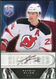 2009/10 Upper Deck Be A Player Signatures #SPE Patrik Elias Autograph