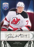 2009/10 Upper Deck Be A Player Signatures #SPM Paul Martin Autograph