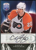 2009/10 Upper Deck Be A Player Signatures #SPR Chris Pronger Autograph