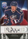2009/10 Upper Deck Be A Player Signatures #SRT Raffi Torres Autograph