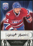 2009/10 Upper Deck Be A Player Signatures #STP Tomas Plekanec Autograph