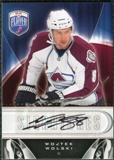 2009/10 Upper Deck Be A Player Signatures #SWW Wojtek Wolski Autograph