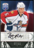 2009/10 Upper Deck Be A Player Signatures #SAL Bryan Allen Autograph