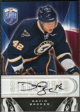 2009/10 Upper Deck Be A Player Signatures #SBK David Backes Autograph