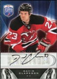 2009/10 Upper Deck Be A Player Signatures #SCK David Clarkson Autograph