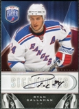 2009/10 Upper Deck Be A Player Signatures #SCL Ryan Callahan Autograph
