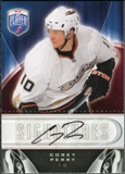 2009/10 Upper Deck Be A Player Signatures #SCY Corey Perry Autograph