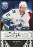 2009/10 Upper Deck Be A Player Signatures #SDS Daniel Sedin Autograph